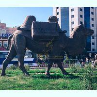 Customize Bronze Camel Sculpture For Garden Decor thumbnail image