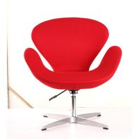 swan chair,leather Fabric upholstery leisure chair, various color available,leather sofa