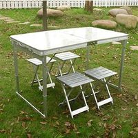 New fashion outdoor table aluminum table folding table camping table DF- 19-47 thumbnail image