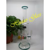 Black Water cap glass water pipe hand made with high borosilicate glass with Water cap thumbnail image