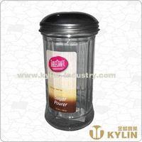 glass sugar holder
