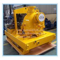 Self priming pump for marine