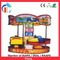 Elong Car turntable carousel with great price mini car carousel ride