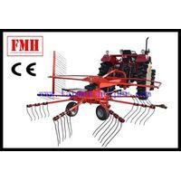 Tractor garden tedder rake thumbnail image