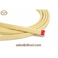 High temperature resistant abrasion resistant kevlar roller tapes used in glass tempering furnaces
