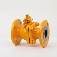 Anti-Static WCB Natural Fuel Gas Ball Valve with Grease Injection Valve