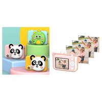 Christmas Gift Toy 2.4 Inch Cartoon Kids Camera Selfie 3200W Pixels Camera
