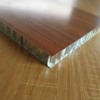 High Acoustic Light Aluminum Composite Honeycomb Wall Panel for Building Facade Curtain Wall