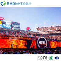 P6 indoor advertising soft module flexible led screen