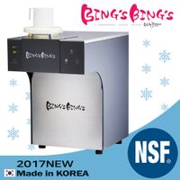 Snow ice flake Bingsu Machine sulbing ice maker BingsBings Mini-S Korean Ice Cream Maker