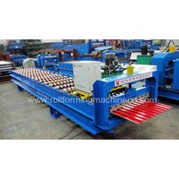 Roll shutter door forming machine XF760/800/830 thumbnail image