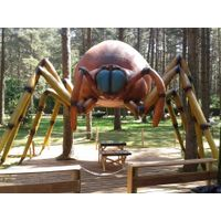 Realistic sipder model for display animatronic insect
