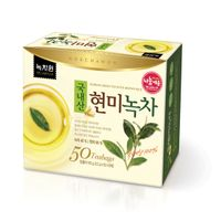Green tea with brown rice