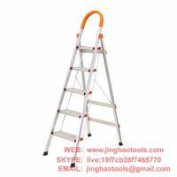 5 Step Aluminum Ladder Folding Platform Stool