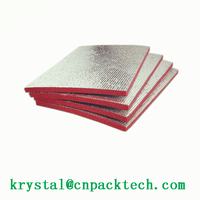 Roofing Insulation Aluminum XPE Foam Foil Roll For Building