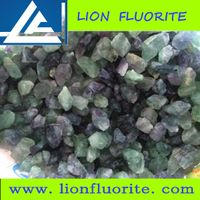 fluorite lump CaF2 80% used in steel mfg plant