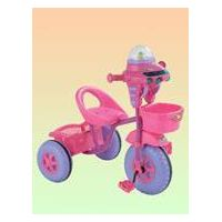 Children's Tricycle with Canopy, Made of Steel and Plastic