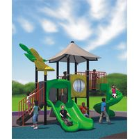 Attractive wonderful nice outdoor plastic playground equipment