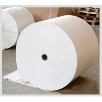white cooling pad base paper