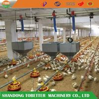 Poultry feeding line