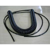 Mechanical equipment cable,CNC Spiral Cable/Coiled Cord