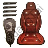 HT-C04 Electric massage cushion with special heating therapy function and 8 kinds of massage modes