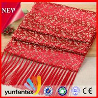 2016 beautiful china traditional style embroidery scarf