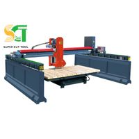 4/5 axis laser bridge cutting machine for stone slab cutting- marble&granite tile cutting machinery thumbnail image