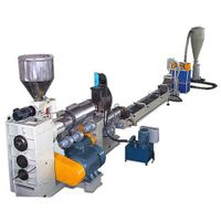 SLZ compulsion feed-in type conical screw recovery granulation unit