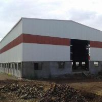large span steel structure warehouse steel structure workshop