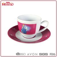 Afternoon tea sets, tea/ coffee melamine cup & saucer set
