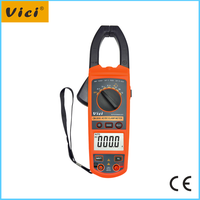 CM-2056 AC DC Clamp meter with backlight and clamp light display