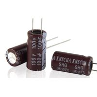 KNSCHA SX30 series Aluminium Electrolytic Capacitor 16V 220UF ,Good for high temperature work, for I