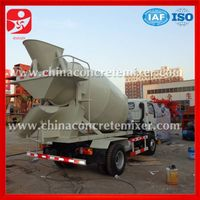 Professional design concrete mixer truck for sale