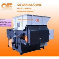 waste plastic single shaft shredder,hard plastic shredder, shredder machine