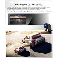 "Dual Cameras Car DVR 5""IPS Screen Rearview Mirror Car DVR Parking Monitoring Mirror"