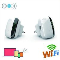 Wireless N Wifi Repeater 802.11N/B/G Network Router Range 300Mbps signal Antennas booster extend thumbnail image