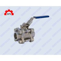 3-pc socket weld ball valve