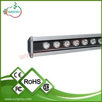 hydroponics programmable IP68 led grow light for greenhouse blue and red 72w
