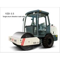 Sale! Single Drum Vibratory Roller(YZD-3.5with a cab)