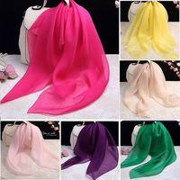 New Fashion Silk Satin Scarve Long Style