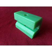 Green Custom Plastic Parts Hard Plastic Block Self Lubrication Slider Block thumbnail image