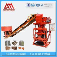 ECO2700 Automatic Hydraulic Clay brick machine thumbnail image