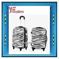 Comfortable zebra grian supermarket cheap luggage trolley/shopping trolley bag/new design trolley tr
