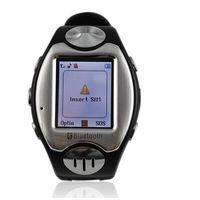 "Mini watch: the Thinnest + Camera + 2GB fixed memory + 1.3"" touch screen  + Quadband"