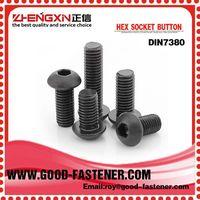 Stud Bolts DIN7380 China gold manufacture hexagon socket button bolt
