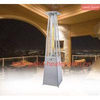 Square Pyramid glass tube Patio Heater