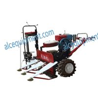 Hot sale model ALC-4G 80 Rice wheat reaper and bander, wheat reaper and harvester