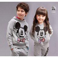 Baby Girls boys Autumn Infant Hooded Pant set sportwear kids clothing thumbnail image