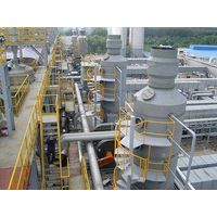 exhaust gas purification tower,spray tower